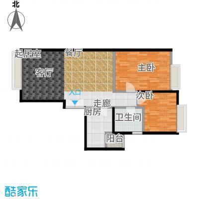 宝星・华庭78.08㎡户型10室