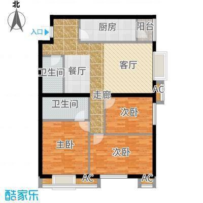 半岛公寓8-2-05-3d户型