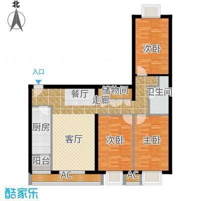 半岛公寓8-1-02-3f户型