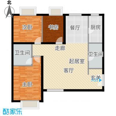 禧福汇国际社区139.00㎡R1-C户型10室