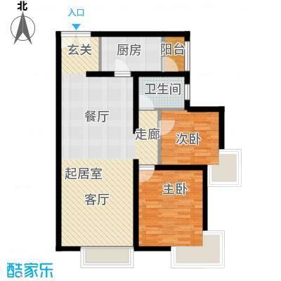 禧福汇国际社区102.00㎡天璇居R2-B户型10室