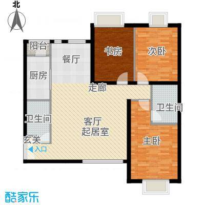 禧福汇国际社区137.00㎡天璇居R2-C户型10室