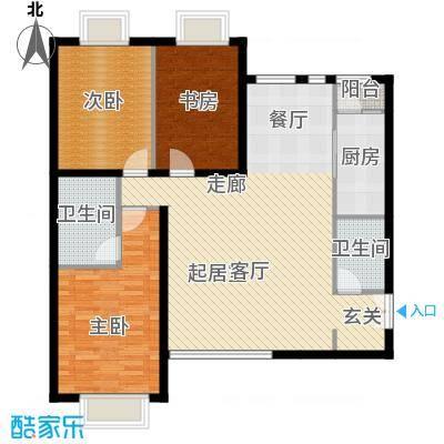 禧福汇国际社区137.00㎡天璇居R2-C2户型10室