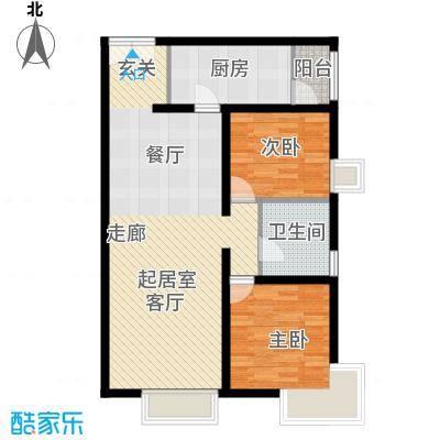 禧福汇国际社区103.00㎡天璇居R2-B1户型10室