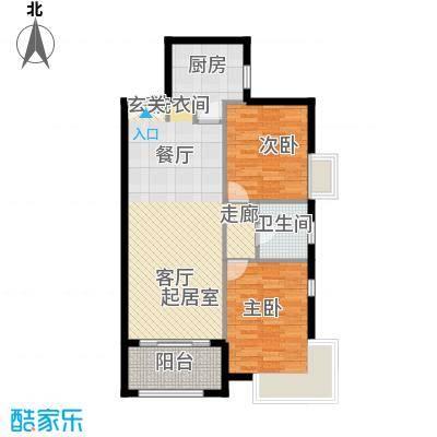 禧福汇国际社区76.92㎡02户型10室