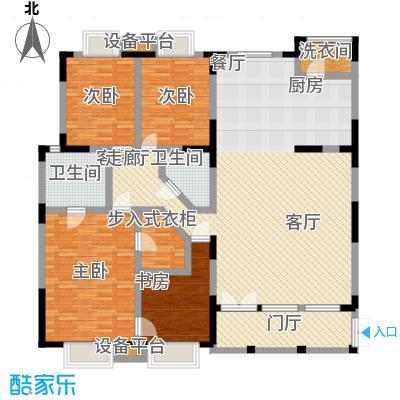 大雄・郁金香舍四室两厅两卫 户型