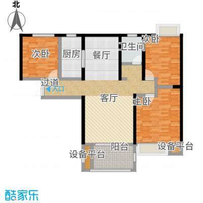 国贸天琴湾119.00㎡3号楼C户型3室2厅1卫
