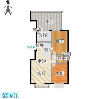 A派公寓111.18㎡4号楼C户型