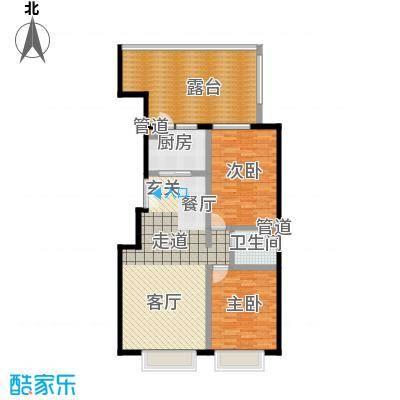 A派公寓109.54㎡3号楼C户型