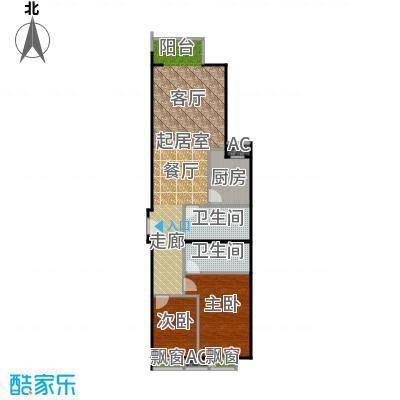 星源国际公寓E座-02户型