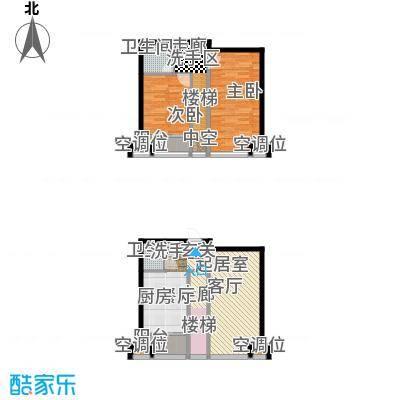 UHN国际村户型2室2卫
