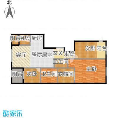 唐宁ONE180.00㎡1号楼3、5单元三室户型10室
