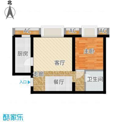 半岛公寓8-1-01-1户型