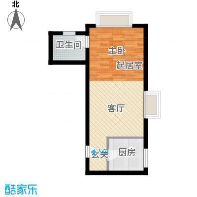 禧福汇国际社区54.00㎡天璇居R2-A户型10室