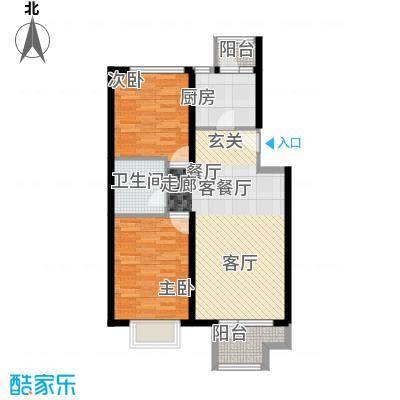 领秀新硅谷72.98㎡A区意境洋楼户型10室