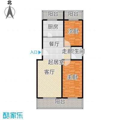众智慧谷108.00㎡D1户型2室2厅1卫