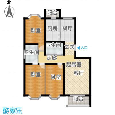顺鑫澜庭119.58㎡J户型10室