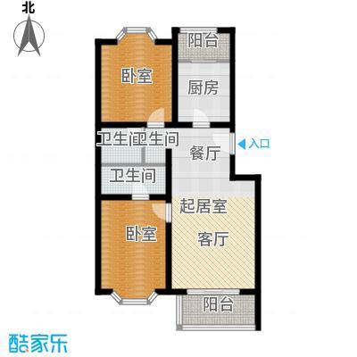 顺鑫澜庭84.80㎡B户型10室