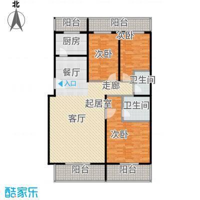 众智慧谷148.40㎡B1户型3室2厅2卫