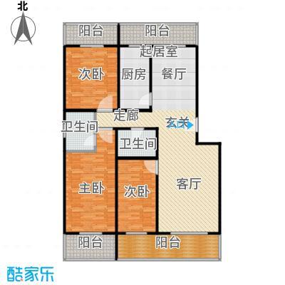 众智慧谷152.00㎡A1户型3室2厅2卫