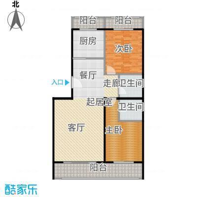 众智慧谷125.00㎡C户型2室2厅2卫