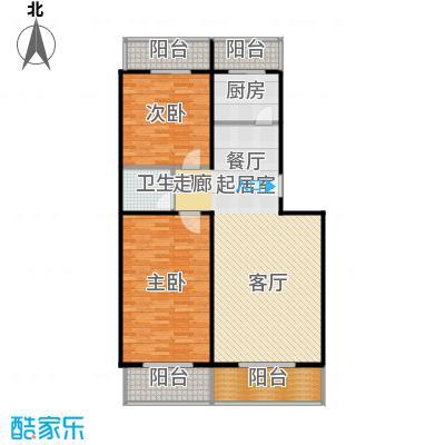 众智慧谷120.00㎡C1户型2室2厅2卫