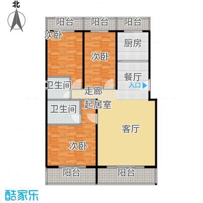 众智慧谷155.00㎡B户型3室2厅2卫
