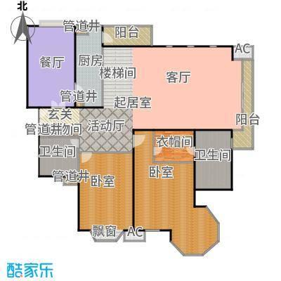 瑞海姆公寓288.00㎡D户型复式户型
