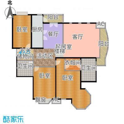 瑞海姆公寓168.00㎡C户型三居户型