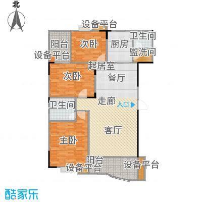 华江.乐天花亭125.62㎡F户型