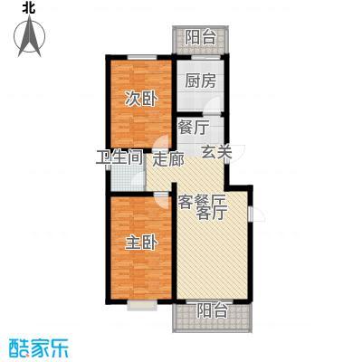 尚北青年公寓(鑫基家属小区)B户型2室1厅1卫1厨