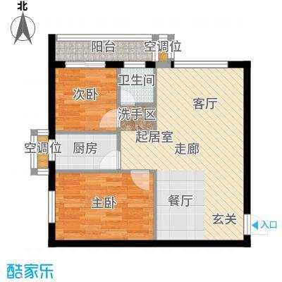 天翔・新新家园(二期)60.00㎡天翔・新新家园(二期)60.00㎡户型10室