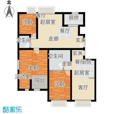 印象・江南136.00㎡度假公寓户型
