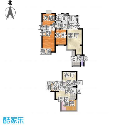 印象・江南187.00㎡三室两厅户型