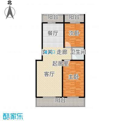 众智慧谷112.00㎡D户型2室2厅1卫