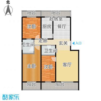 众智慧谷157.00㎡A户型3室2厅2卫