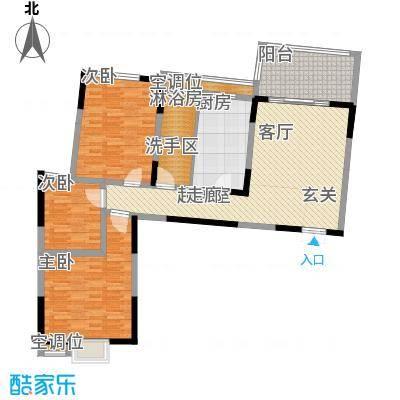 名都花园(三期)115.52㎡三房一厅一卫-115.52平方米-22套户型