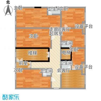 华江.乐天花亭51.00㎡单身公寓户型