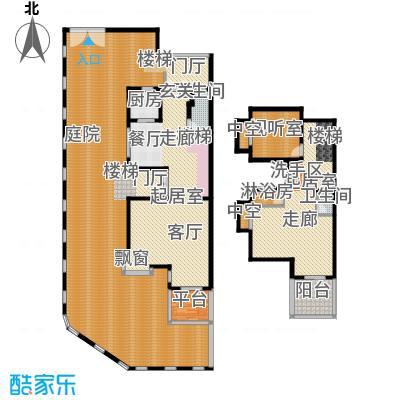 印象・江南313.00㎡联排别墅户型