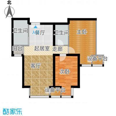 中铁置业・翰庭79.15㎡B5户型10室