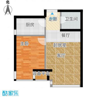 中铁置业・翰庭49.99㎡5-1-202-502户型10室