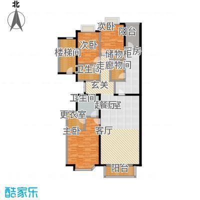 天兆家园B2户型165.39m2户型