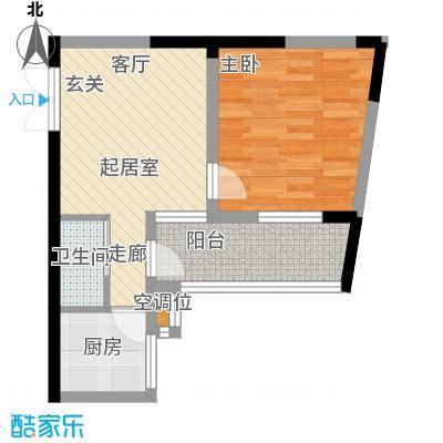 名都花园(三期)47.98㎡一房一厅一卫-47.98平方米-22套户型