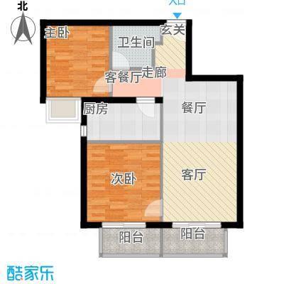 金融街・融汇75.00㎡A1户型3室2厅1卫