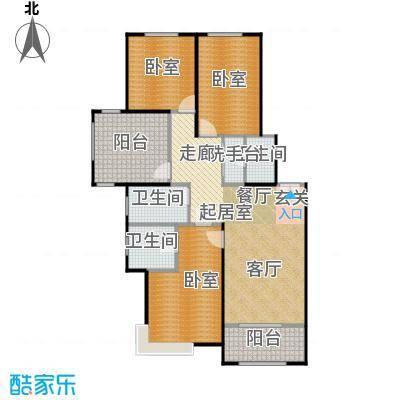 北京城建・红木林108.00㎡C3户型2室2厅2卫