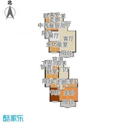 长岛港湾272.01㎡复式结构户型