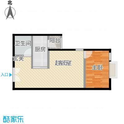 宝星・华庭48.32㎡二期1号B、2-7号B户型10室