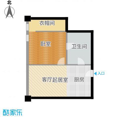 大悦公寓87.57㎡S13户型10室