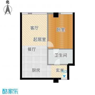 大悦公寓88.11㎡S03户型10室