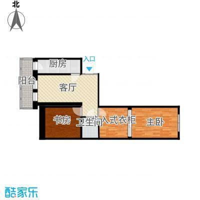 福泽温泉公寓户型图1